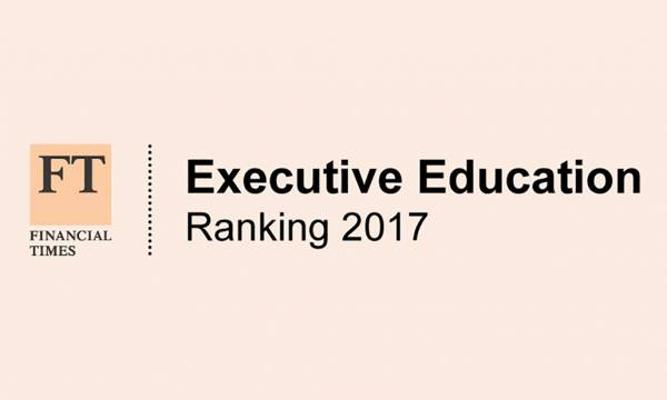 FT Executive Education Rankings 2017
