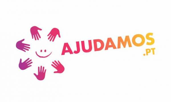 Logo do portal de voluntariado Ajudamos.pt
