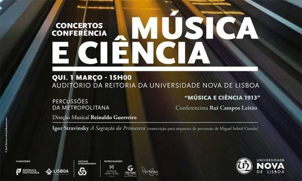 Programa Música e Ciência na NOVA