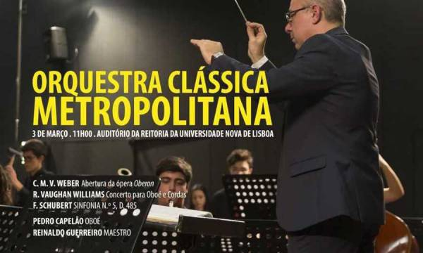 Concerto Orquestra Clássica Metropolitana