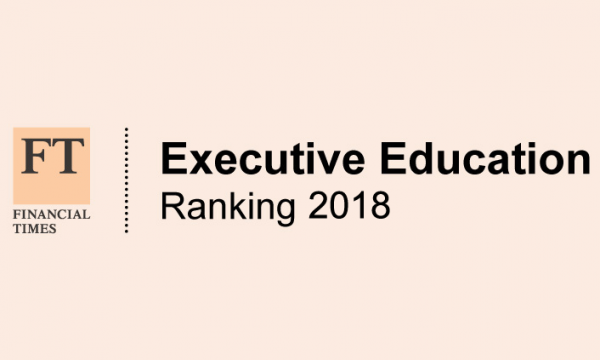 FT Executive Education Ranking 2018