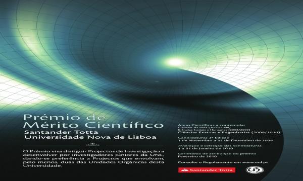 3.ª edição do Prémio Santander Totta/Universidade Nova de Lisboa