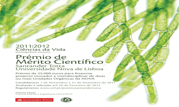 5.ª edição do Prémio Santander Totta/Universidade Nova de Lisboa