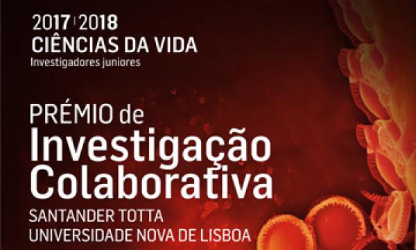 Prémio de Investigação Colaborativa NOVA-Santander Totta 17/18