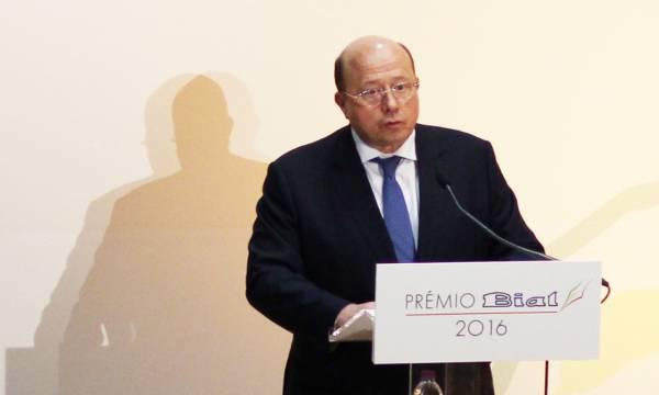 Jaime da Cunha Branco recebe Prémio BIAL 2016