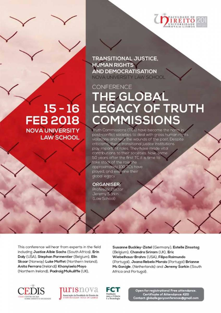 Conference The Global Legacy of Truth Commissions