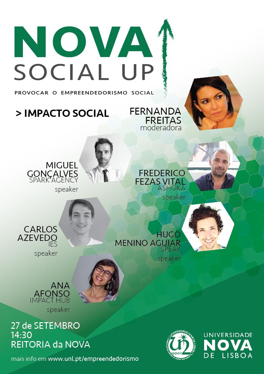 NOVA SOCIAL UP!   Universidade NOVA de Lisboa