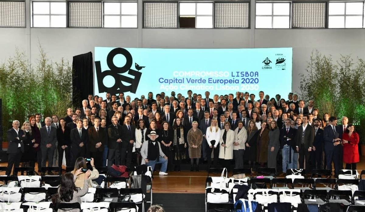 Cerimónia de Adesão ao Compromisso Lisboa Capital Verde Europeia 2020