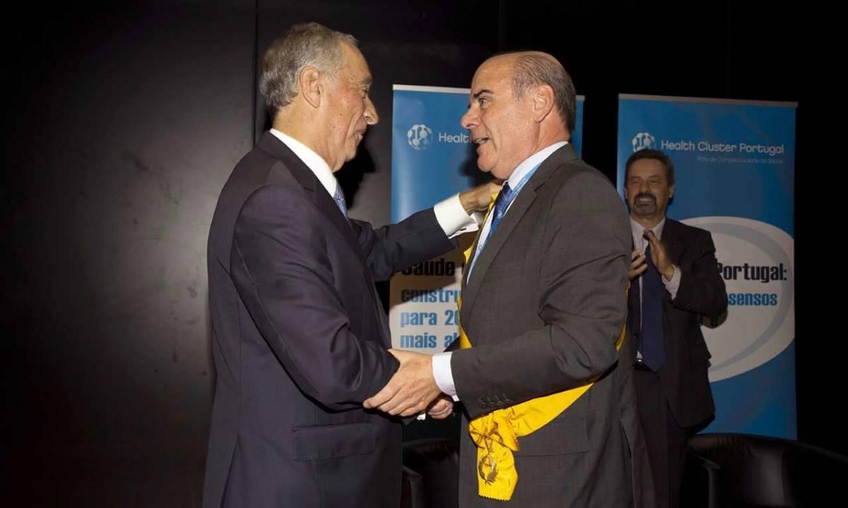 Presidente da República condecora o Professor António Rendas com a Grã-Cruz da Ordem da Instrução Pública