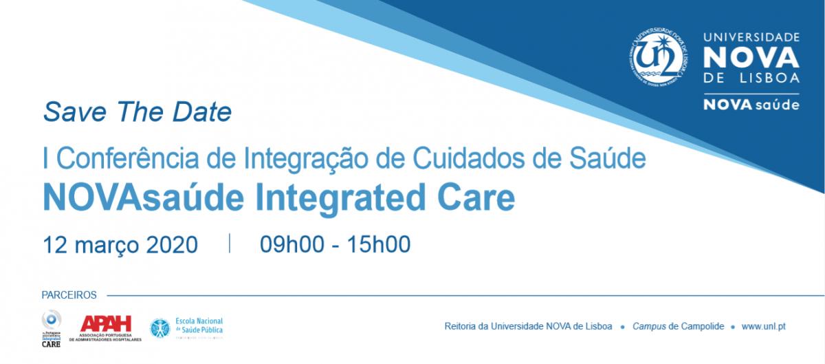 Save the Date_I Conferência Integração de Cuidados de Saúde