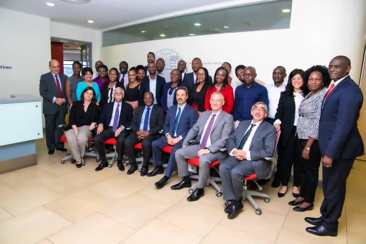 Delegação da NOVA em visita à Universidade Aga Khan
