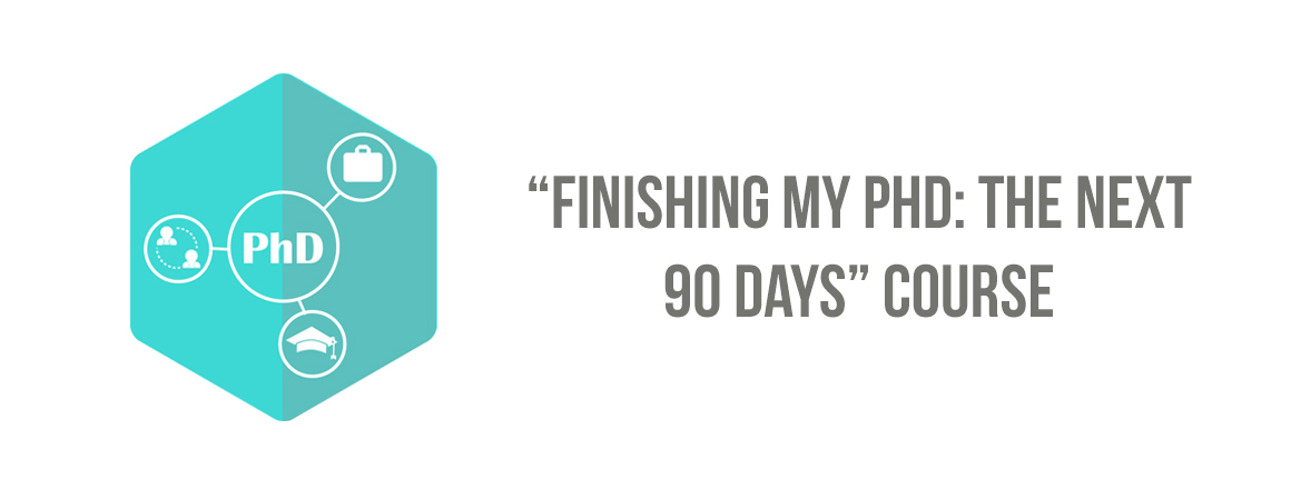 Finishing my PhD: The next 90 days