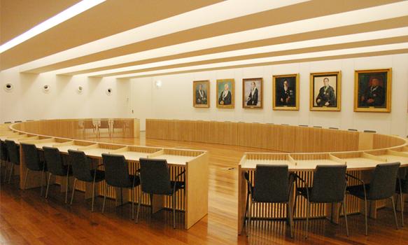 Sala do Senado - Reitoria da NOVA