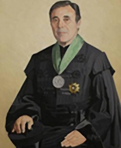 Retrato de Alfredo de Sousa (pintado por Maluda in 1987)