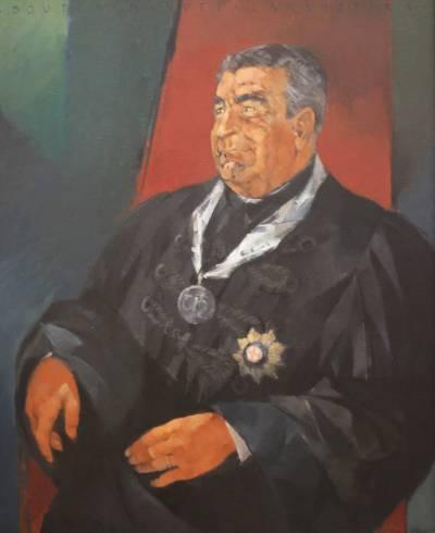 Portrait of Manuel Laranjeira (painted by Luís Filipe Abreu in 1988)