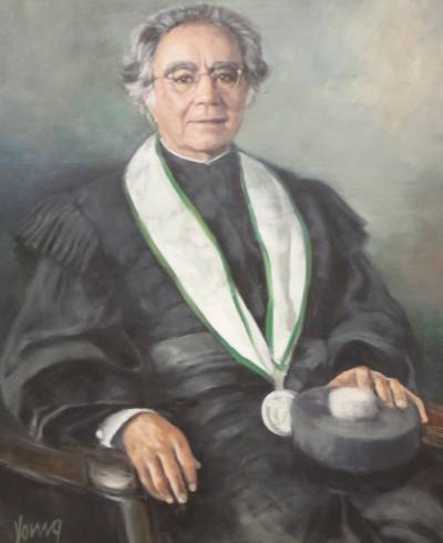 Portrait of Leopoldo Guimarães (painted by Michael Yours in 2007)