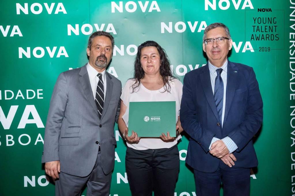 Paula Ferreira, em representação de Rui Silva, Engenharia Mecânica, FCT NOVA