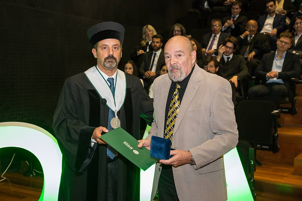 Reitor da NOVA e Prof. Doutor Leonard Amaral