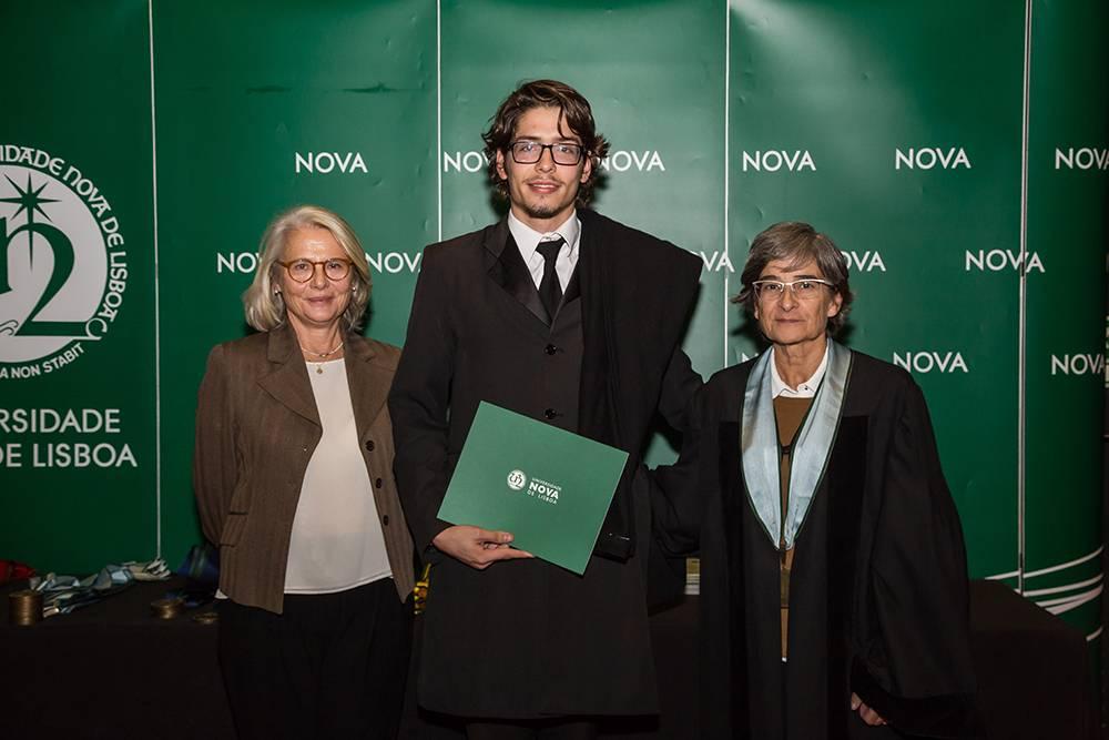 Dr.ª Teresa Lemos, João Fernandes e Prof.ª Maria da Graça Martinho