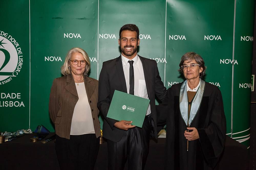 Dr.ª Teresa Lemos, Pedro da Silva e Prof.ª Maria da Graça Martinho