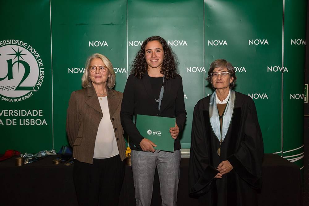 Dr.ª Teresa Lemos, Vera Vilaça e Prof.ª Maria da Graça Martinho
