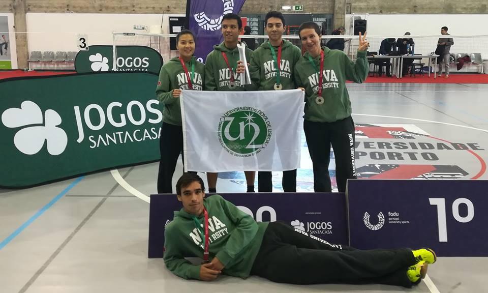 Equipa de Badminton da NOVA