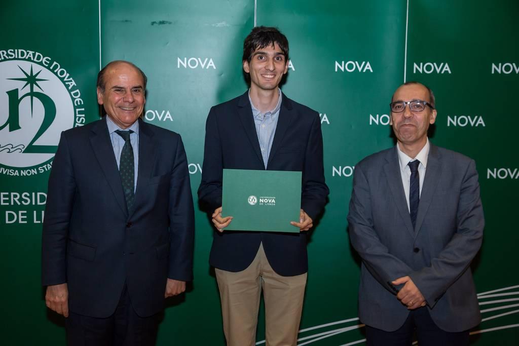 Reitor da NOVA, João Álvares Veloso - estudante de Arqueologia, e Diretor da Faculdade de Ciências Sociais e Humanas da NOVA