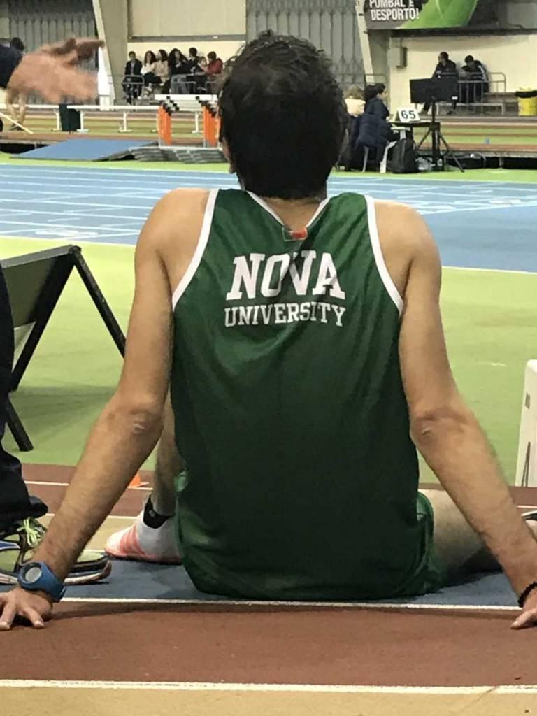 Atleta da NOVA no Campeonato Nacional Universitário de Atletismo de Pista Coberta