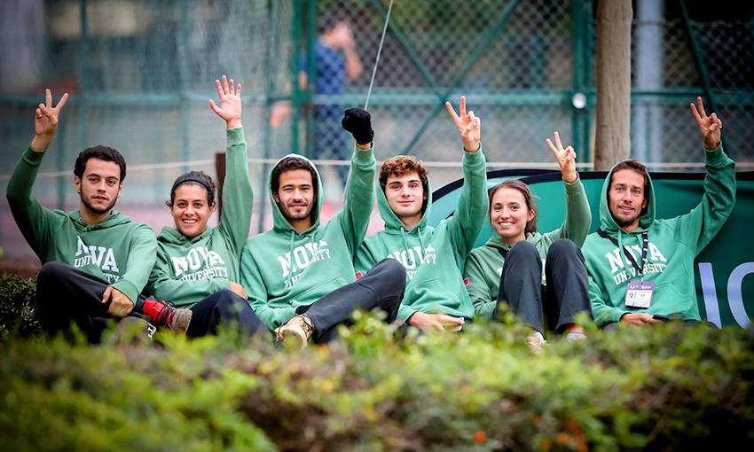 NOVA Desporto athletes at the Tennis CNU