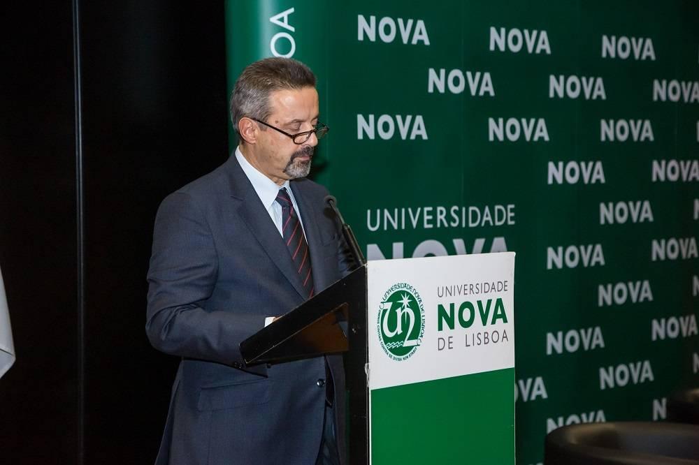 Reitor da NOVA, Professor João Sàágua
