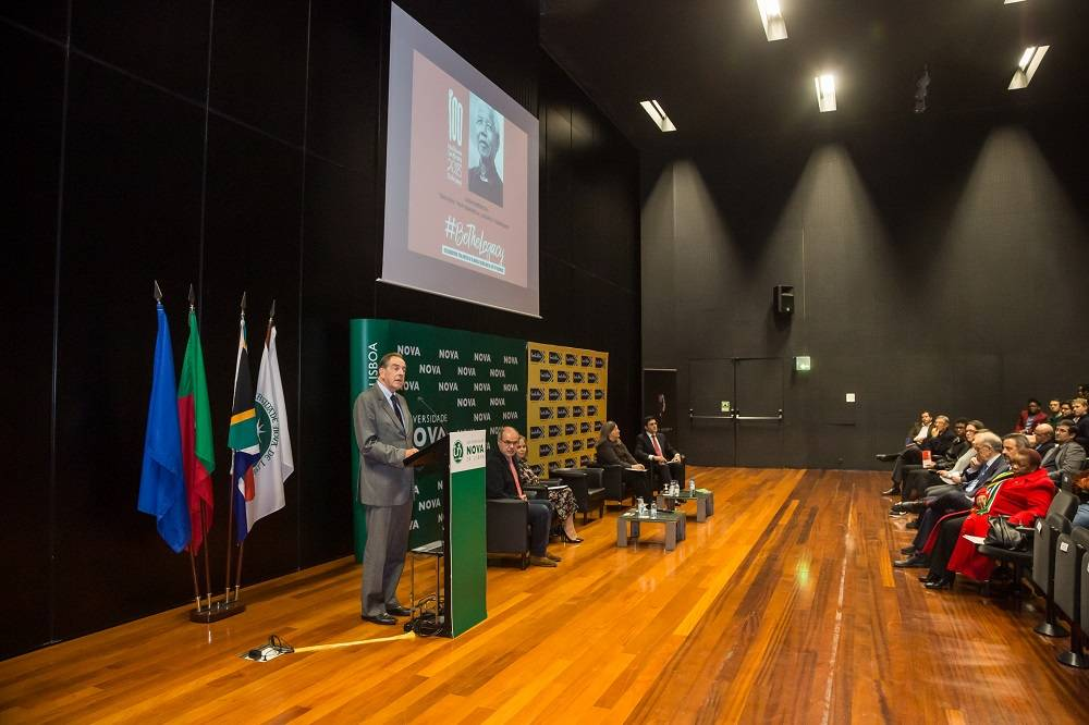 "Professor Jorge Braga de Macedo abre o painel na Conferência ""Moving the Mandela Legacy Forward"""