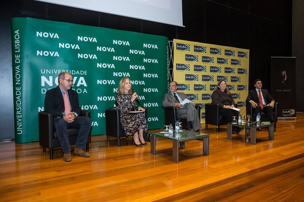 "Oradores na Conferência ""Moving the Mandela Legacy Forward"""