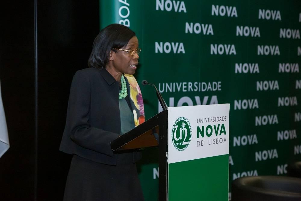 Ministra da Justiça, Dr.ª Francisca Van Dunem
