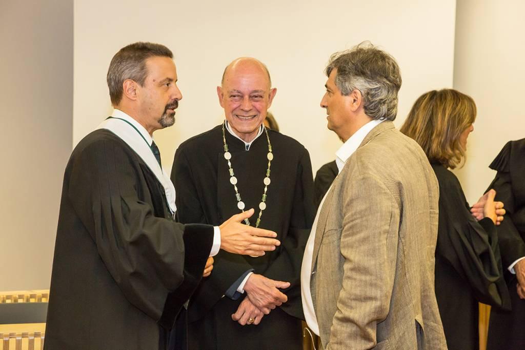 João Sàágua, Eduardo de Arantes e Oliveira e Luís Baptista