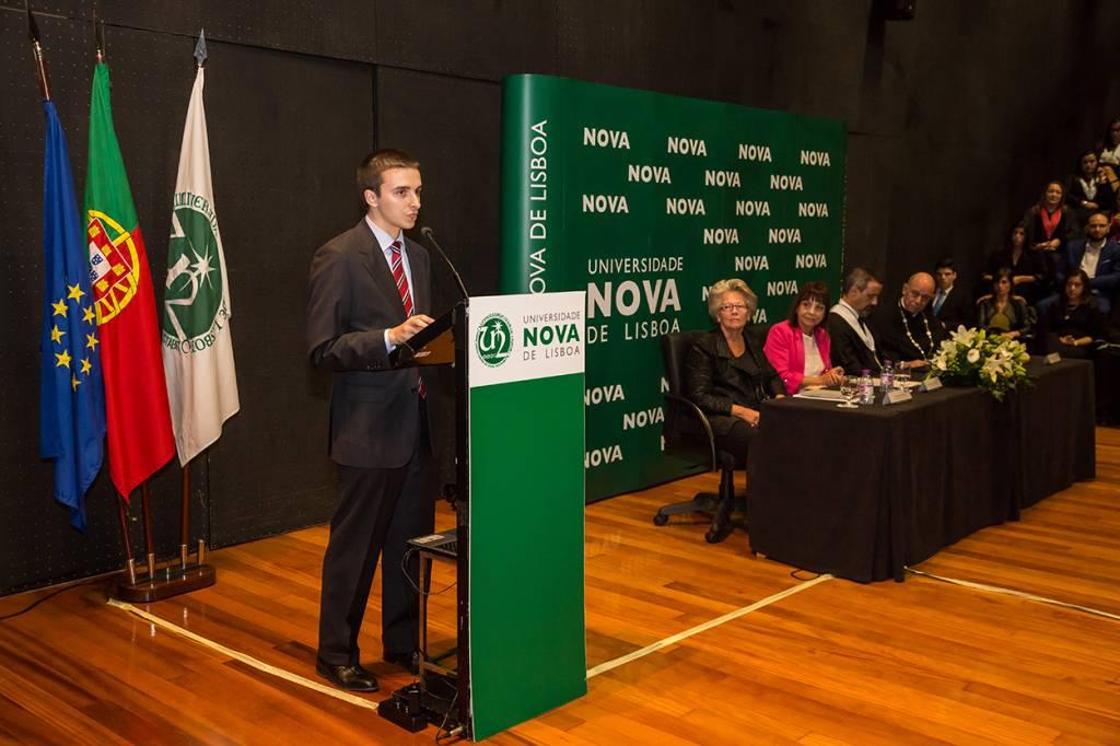 Edgar Simões, Representante do Conselho de Estudantes