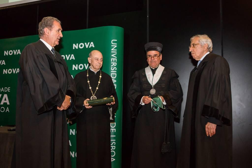 Manuel Nunes da Ponte, Eduardo de Arantes e Oliveira, António Rendas e Artur Santos Silva
