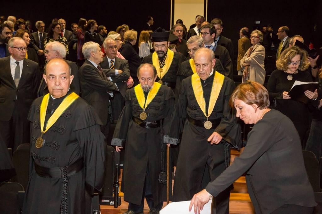 Academic Procession in the Auditorium