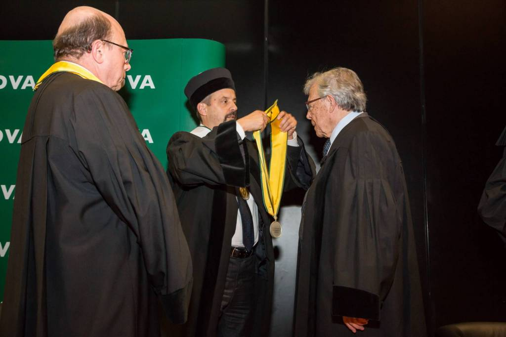 Jaime da Cunha Branco, João Sàágua e António de Barros Veloso
