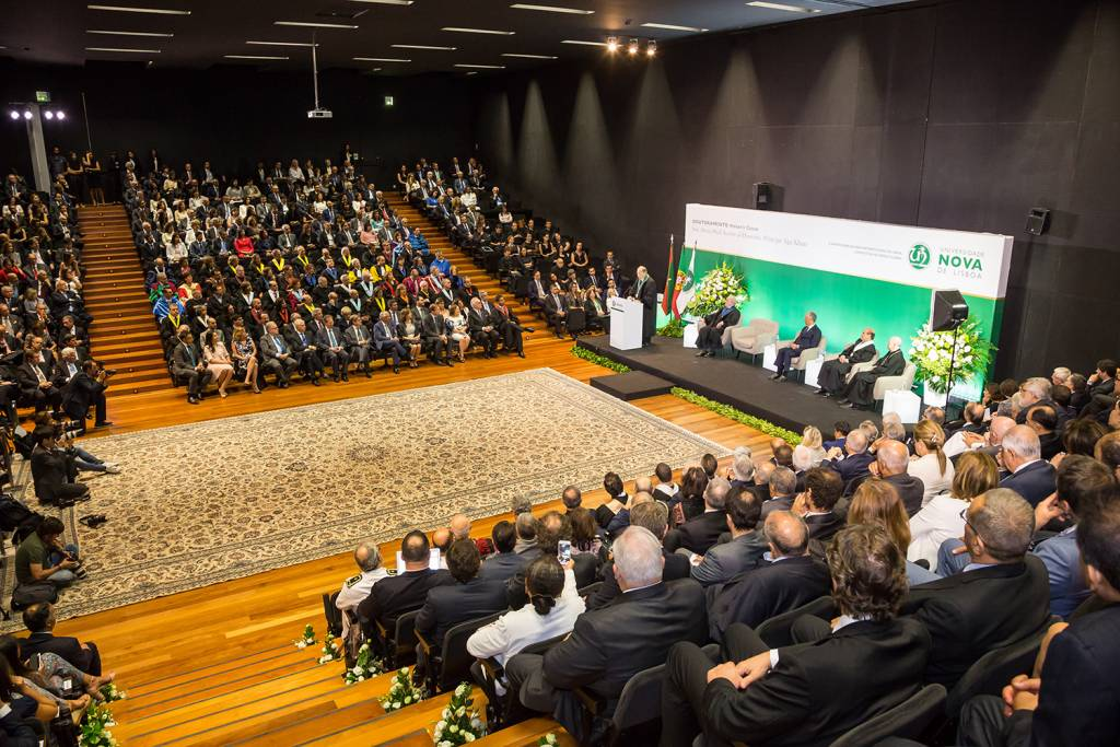Ceremony of Honoris Causa Doctorate of His Highness Prince Aga Khan