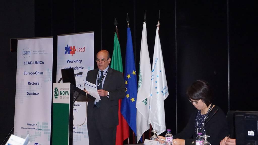 Rector of NOVA, Professor António Rendas