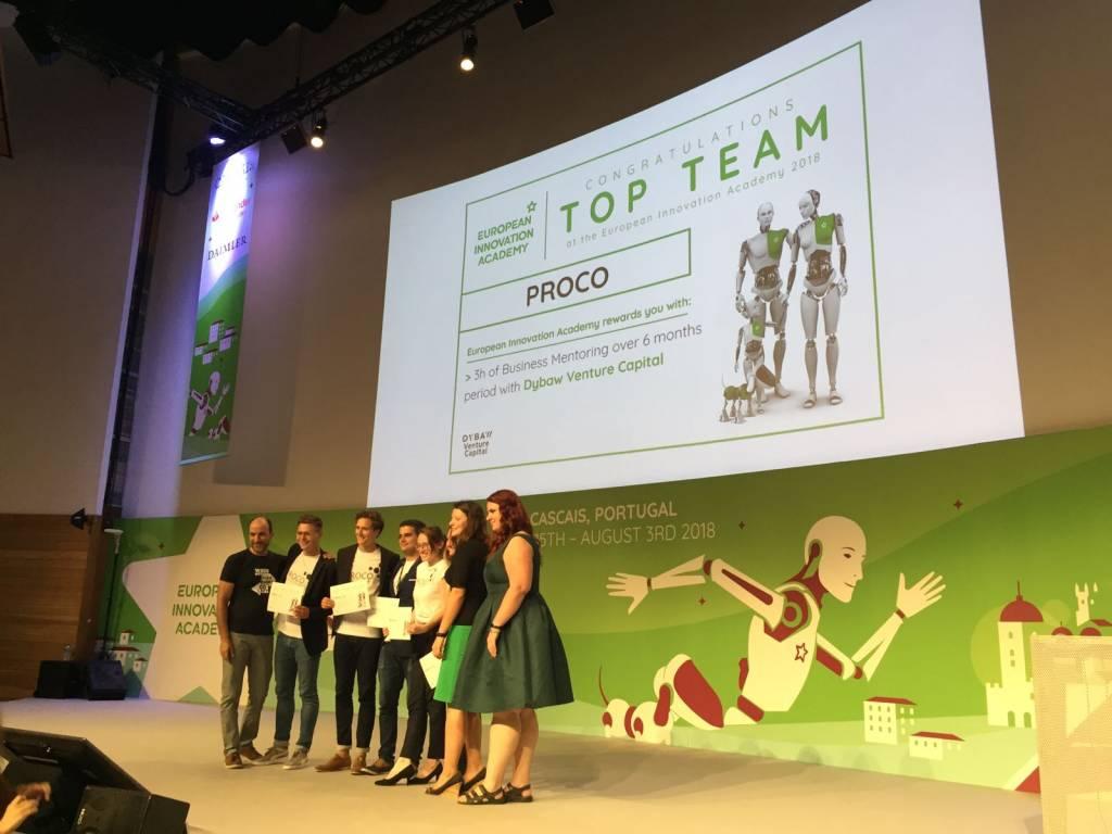 """""""Proco"""" team, which includes NOVA students"""