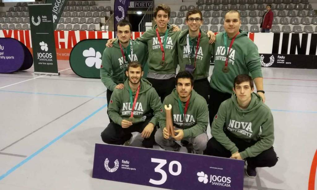 Floorball team of NOVA