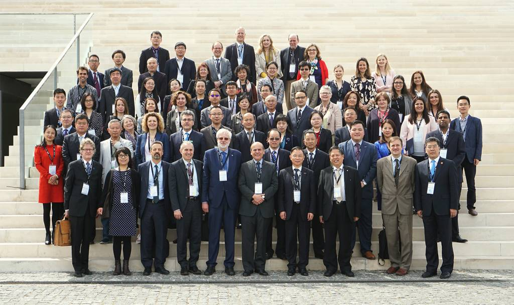 Participants in the first day of the event