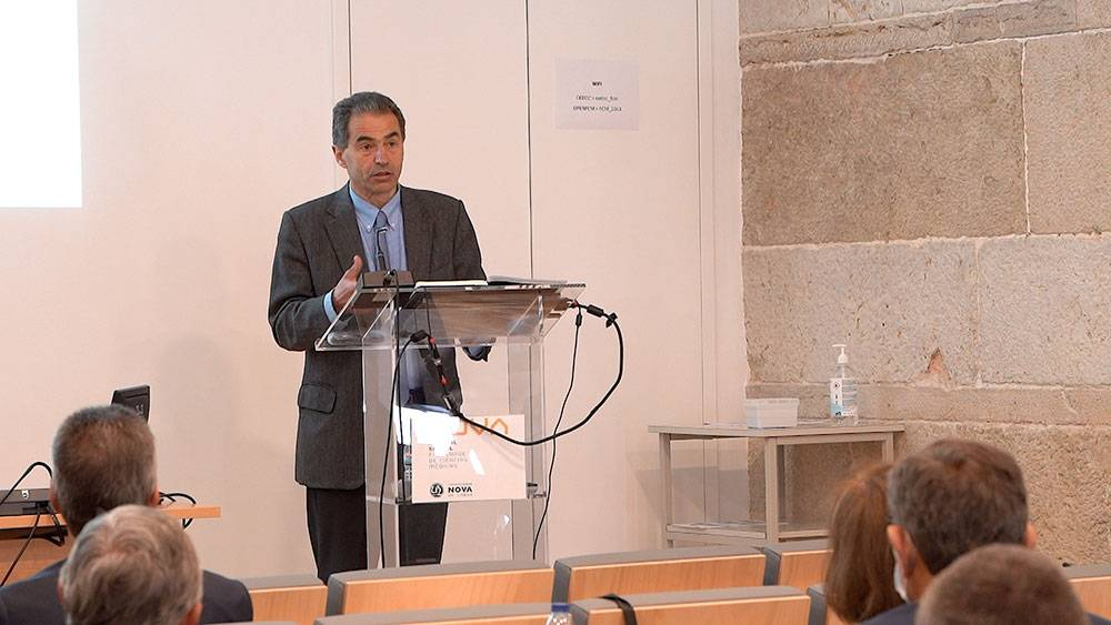 Manuel Heitor, Portuguese Minister for Science, Technology and Higher Education