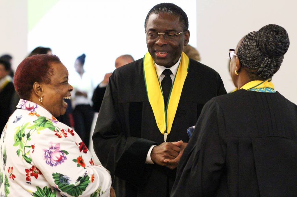 Mmamokwena Gaoretelelwe (Embaixadora da África do Sul), Luís Gomes Sambo e Matshidiso Moeti