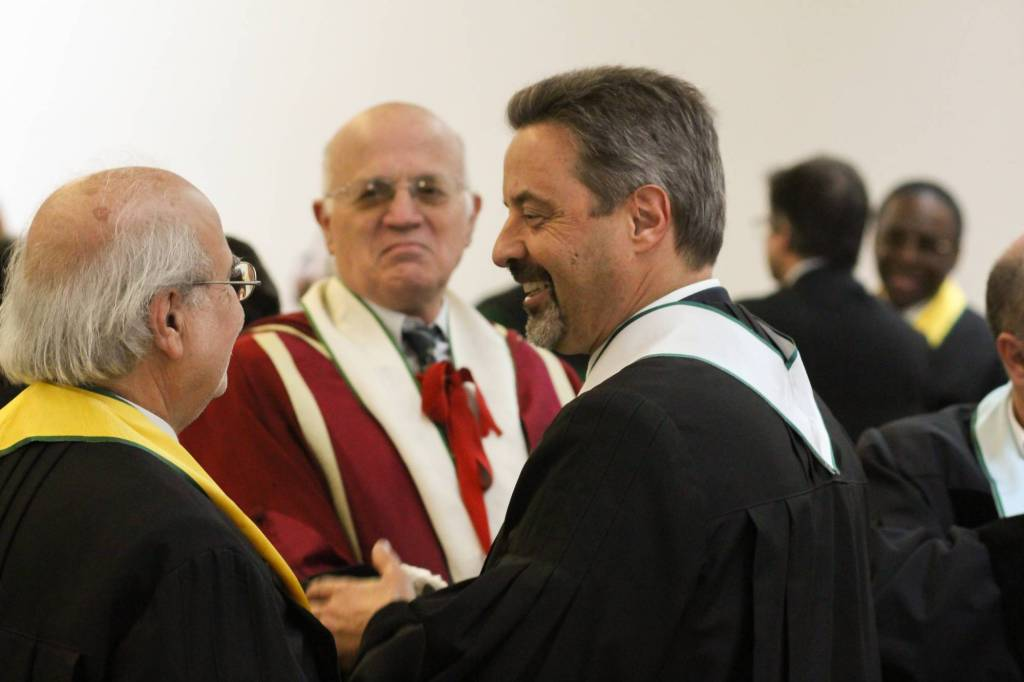 Luís Sousa Lobo (ao fundo) e João Sàágua
