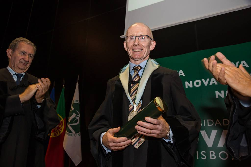 Doutoramento Honoris Causa de Andrew Livingston, outubro 2019
