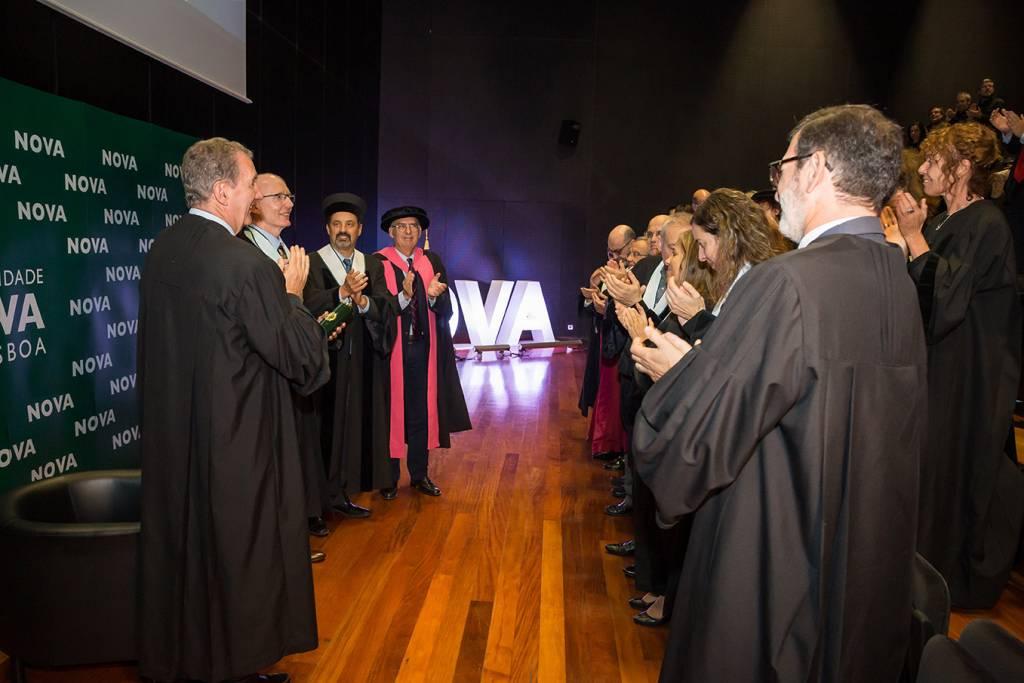 NOVA atribui Doutoramento Honoris Causa a Andrew Livingston, outubro 2019