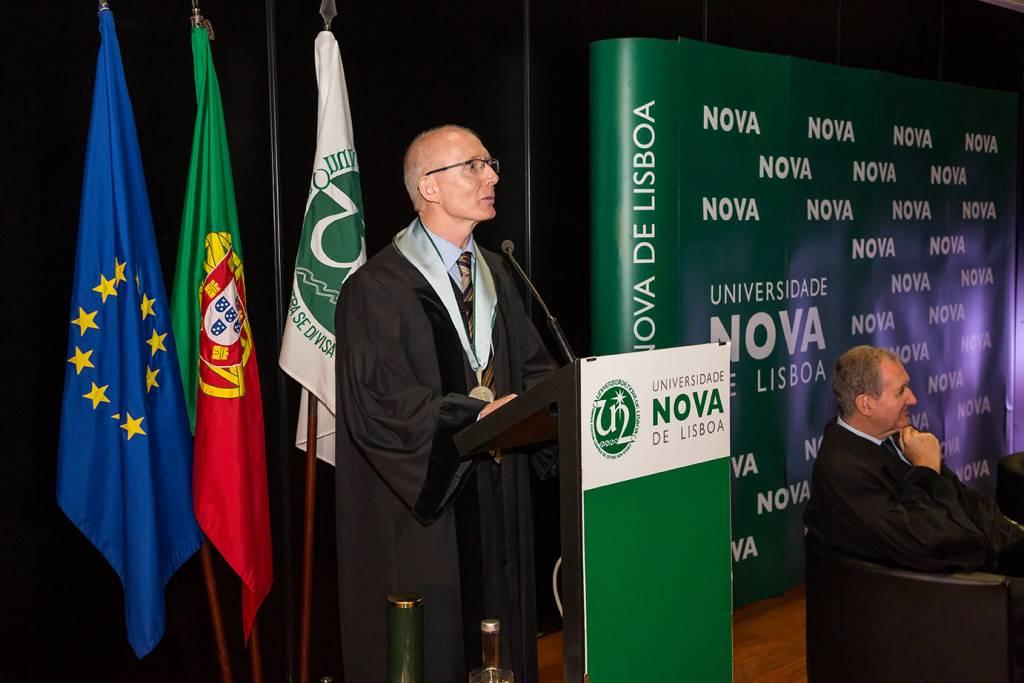 Doutoramento Honoris Causa a Andrew Livingston, outubro 2019