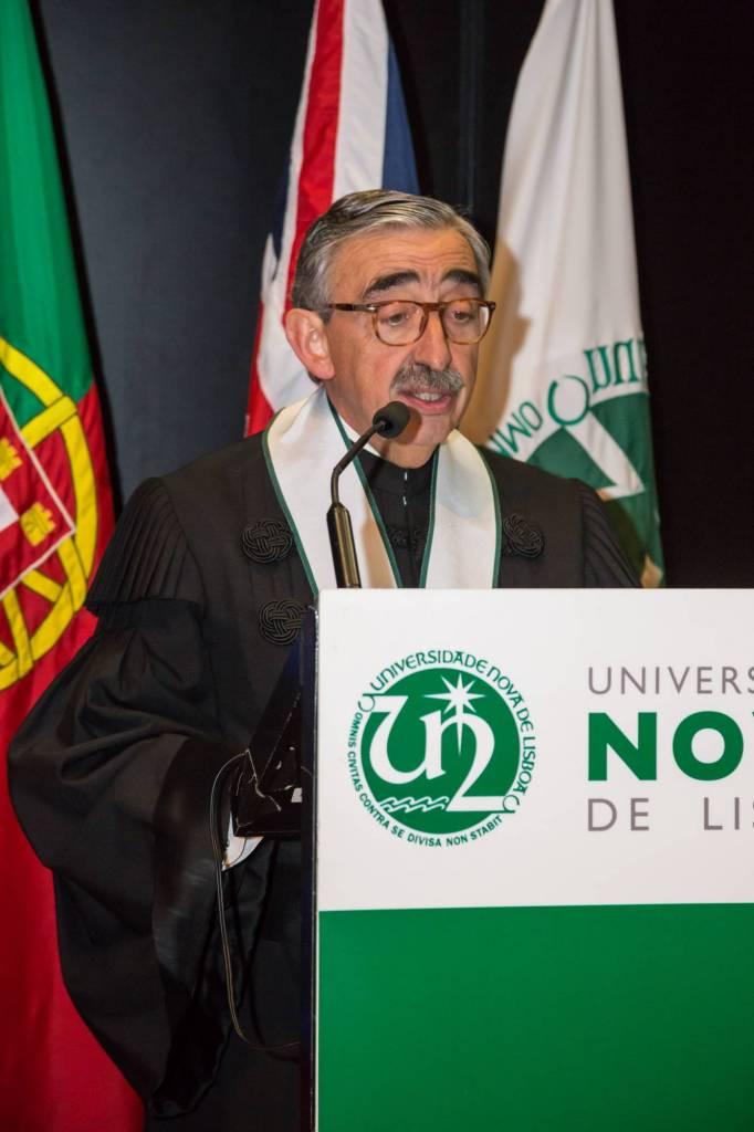 Prof. José Fragata, Vice-Reitor da NOVA